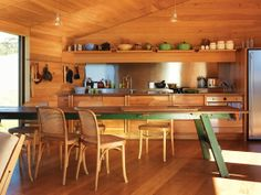 kitchen - Shearer's Quarters by John Wardle Architects