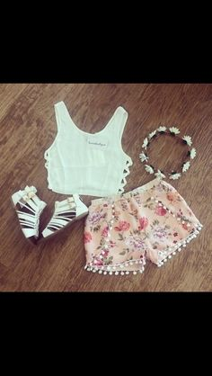 Adorable summer outfit for teens