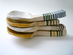 spoons please by carnevaleclay on Etsy