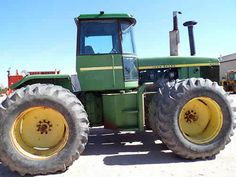 John Deere 8430 tractor salvaged for used parts. This unit is available at All States Ag Parts in Bridgeport, NE. Call 877-530-5010 parts. Unit ID#: EQ-24041. The photo depicts the equipment in the condition it arrived at our salvage yard. Parts shown may or may not still be available. http://www.TractorPartsASAP.com