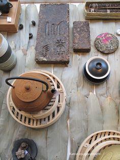 galettes et briques de thé sombre Pu'Er