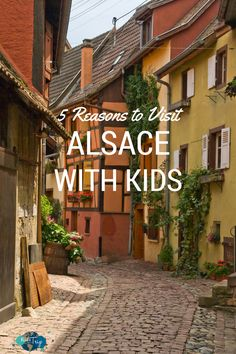 If you haven't explored the region before, here are 5 reasons to visit Alsace with kids and we know there will be something for everyone.