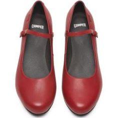 Premiere für meine roten Lack High Heels von Paul Green