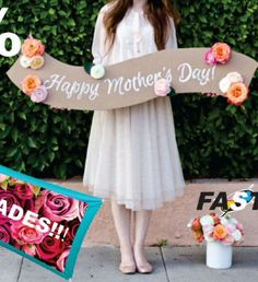 Mother's Day photo booth sign