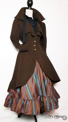 Site officiel My Oppa - site My Oppa Steampunk, Creations, Victorian, Dresses, Fashion, Fashion Ideas, Outfit, Gowns, Moda