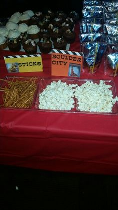 Fun food for a dinotrux party