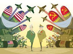 La Guerra Fría es el sistema de relaciones internacionales entre 1947 y 1991 basado en la división del mundo en dos bloques antagónicos liderados por EEUU y URSS.