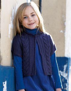 Revista Niños 63 Otoño / Invierno | 35: Niños Chaleco | Violeta oscuro