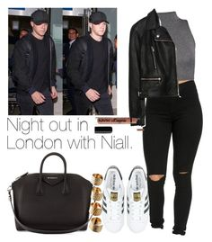 """Night out in London with Niall."" by welove1 ❤ liked on Polyvore featuring WearAll, adidas Originals, Givenchy, Maison Margiela and Zara"
