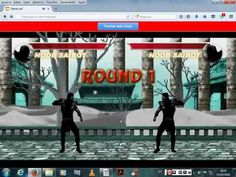 THE LOBO 2080 (YOUTUBE): JOGANDO ONLINE GAME MORTAL KOMBAT 3