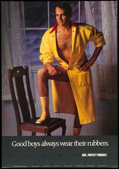 Good Boys Always Wear Their Rubbers