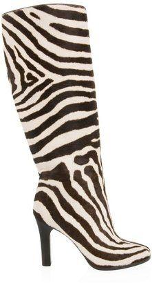 ShopStyle: RALPH LAUREN - zebra fur boot
