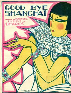 Good Bye Shanghai, 1924 (ill.: J. Van Caulaert); ref. 3407