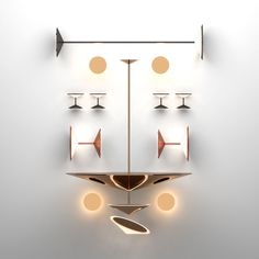 Italian High-End Narciso Suspension Lamp