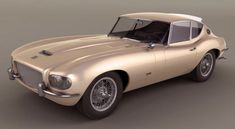 Jaguar Series 1 XKE 4.2 Coupe, 1966, designed by Raymond Loewy. Built by French coachbuilders Pinchon-Parat, the one-off XKE was used by Loewy himself while he lived in France and Monaco. The unrestored car was sold at auction in 2011 for US$128,000
