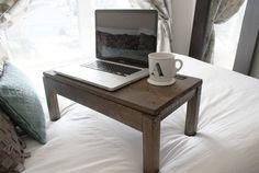 How to build a scrap wood lap desk