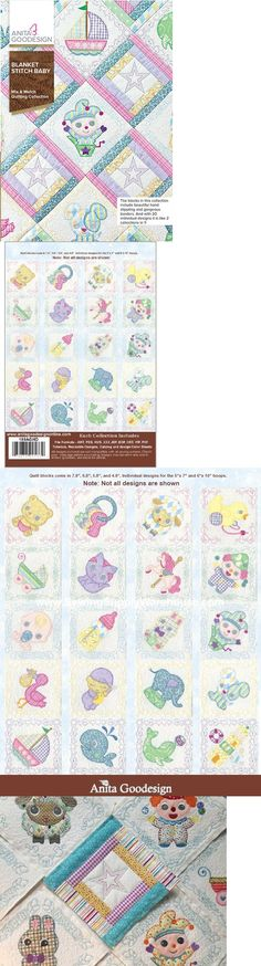 Embroidery Machines 71196: Anita Goodesign Blanket Stitch Baby Mix And Match Quilting 189Aghd - New Sealed -> BUY IT NOW ONLY: $61.95 on eBay!