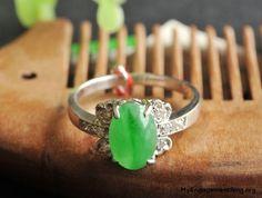 full green jadeite ring - My Engagement Ring