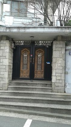 Entry door South Korea Beauty, Entry Doors, Home Decor, Decoration Home, Entry Gates, Room Decor, Entrance Doors, Interior Decorating