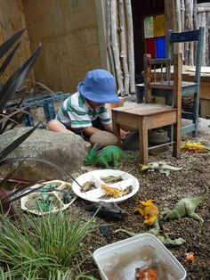 M A T A P I H I - natural kindergarten.  Just an example of what can be done.