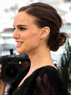 low loose knot teased updo updos for thin hair