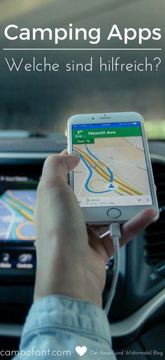 Camping apps can be very helpful if you are looking for a campsite or parking space nearby. Or if you want to know where the next disposal station is. We& show you what useful camping apps there are for the phone and tablet, and what they offer. Camping List, Camping Places, Camping Checklist, Camping World, Camping Essentials, Tent Camping, Campsite, Camping Gear, Outdoor Camping