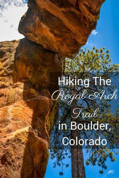 Hiking the Royal Arch Trail In Boulder Colorado Alles, was Sie wissen müssen, um den Royal Arch Trail in Boulder, Colorado, zu wandern Boulder Colorado, Boulder Hikes, Utah Hikes, Visit Colorado, Colorado Springs Camping, Colorado Hiking, Colorado Mountains, Colorado Vacations, Colorado Waterfalls