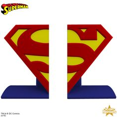Superman Book Ends