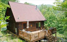 Peaceful Rustic Log Cabin