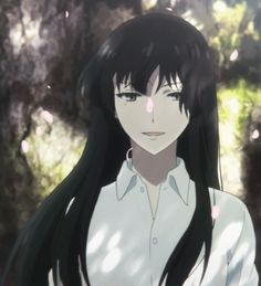 She reminds me of an anime character I created