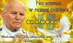Rocznica śmierci papieża Jana Pawła II