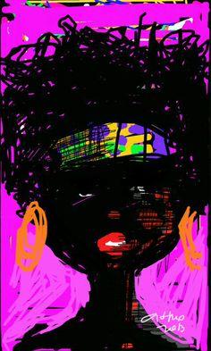 mulher black pink