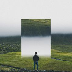 Landscape Mirrors: Photo Manipulations by Rigved Sathe | Inspiration Grid | Design Inspiration