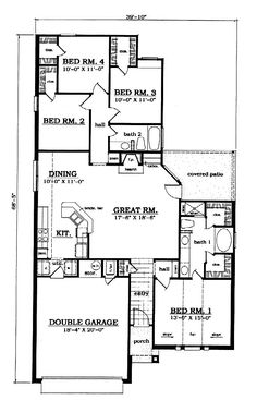 Traditional Level One of Plan 79032