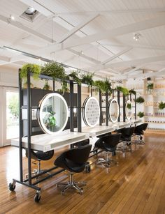 278 best beautiful hair salons and spas salon design spa design rh pinterest com