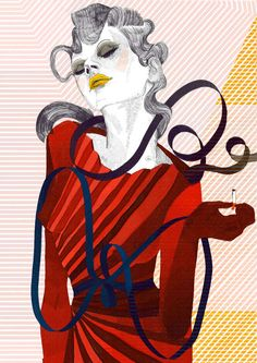 Saturated Pop Art Couture : Francois Berthoud