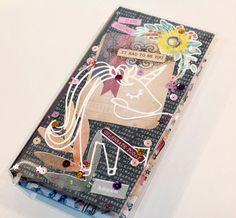 Vídeo tutorial paso a paso de un midori (portadas + diseño y montaje de los cuadernos interiores) Cinderella, Layout, Scrapbook, Etsy, Art, Notebooks, Step By Step, Porcelain Ceramics, Cover Pages