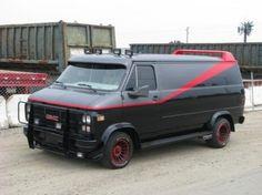 Breaking: A-Team van rams into patrol car as police taser its wild driver A Team Van, 80 Tv Shows, 4x4 Van, Chevy Van, Custom Vans, The A Team, Heart For Kids, Police Cars, Body Mods
