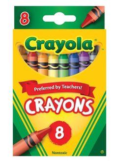 Crayola Coloured Crayons ( 8 Pack ): Amazon.co.uk: Toys & Games Esme & Isla (Colouring Templates & Crayons)