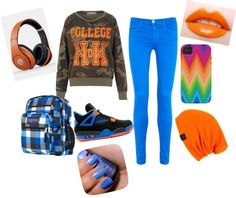"""""""Casual School Day"""" by ibehavemindless ❤ liked on Polyvore"""