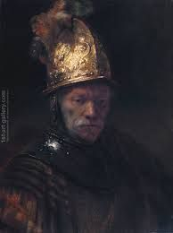 One of my favorites by Rembrandt. qb The Man with the Golden Helmet by Rembrandt van Rijn c. Most Famous Paintings, Famous Artists, Buy Paintings, Rembrandt Paintings, Rembrandt Art, Rembrandt Portrait, Drawn Art, Dutch Golden Age, Classical Art