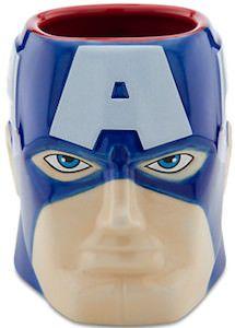 Captain America Sculptured Coffee Mug