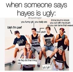 Foreals follow this instruction if u think Hayea is ugly 1.Ur Dumb  2. Ur Ugly 3.call 1-800 You're Dumb  4.u need glasses or you're Dumb
