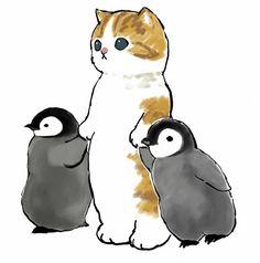 Kitten Drawing, Cute Couple Art, Dibujos Cute, Cat Aesthetic, Cute Animal Drawings, Chibi, Cute Baby Animals, Spirit Animal, Cat Art
