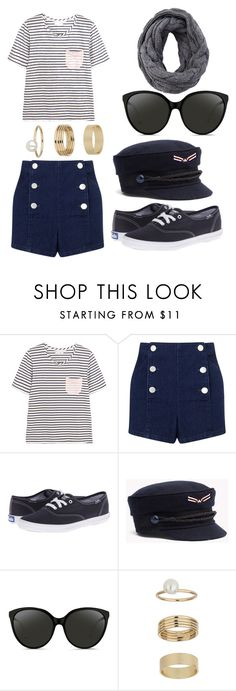 """""""Untitled #1987"""" by avrilandd ❤ liked on Polyvore featuring Chinti and Parker, Miss Selfridge, Keds and Linda Farrow"""