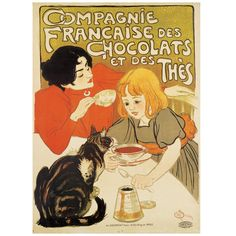 Theophile-Alexandre Steinlen: Poster Cat Panel - The Met Store