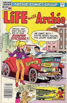 Life With Archie 232, Archie Comic Publications https://www.pinterest.com/citygirlpideas/archie-comics/