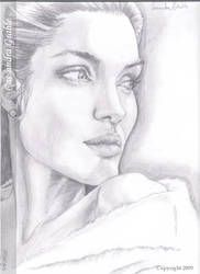 Angelina Jolie by DarkGirlDrawings Taylor Swift Drawing, Christina Aguilera, Angelina Jolie, Britney Spears, Rihanna, Pencil Drawings, Art Sketches, It Hurts, Deviantart