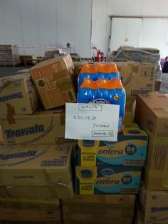 Más alimentos enviados a Salta.