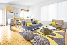 Déco salon gris et jaune: 25 inspirations fascinantes pour vous!